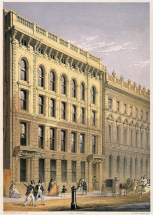 Ocean Insurance Company's Offices: 1862