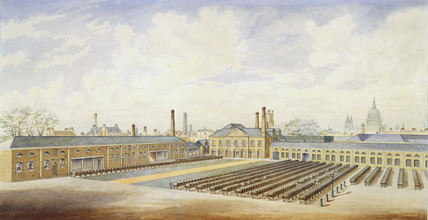 Messrs. Pott's Vinegar Manufactory, Bankside: 19th century