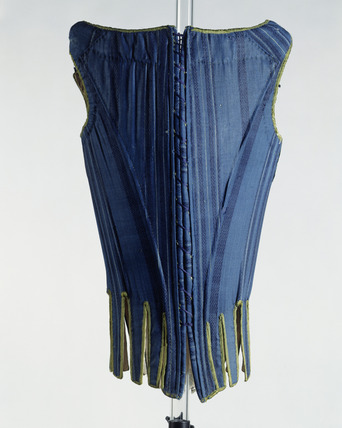 Corset, back view: 17th century