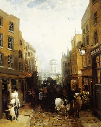 Buckingham Street, Strand: 1854