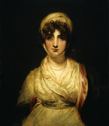 Portrait of Mrs Sarah Siddons, nee Sarah Kemble as 'Mrs Haller' in Kotzebue's 'The Stranger': 18th century