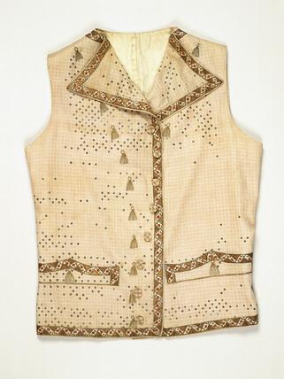 A man's waistcoat: 18th century