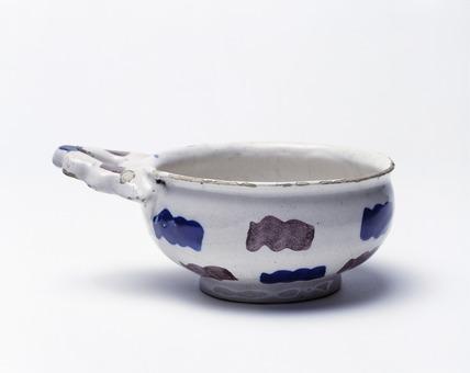 Earthenware Porringer: 17th-18th century