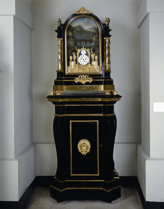 Organ clock: 18th century