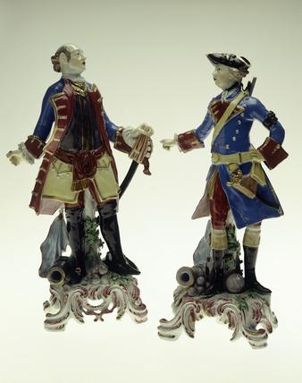 Bow porcelain portrait figures: 18th century