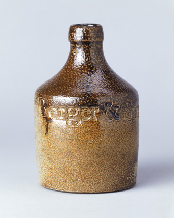 Ink bottle: 19th century