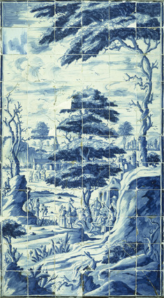 Tile panel: 18th century