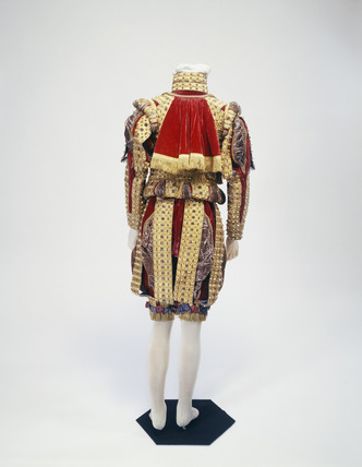 Harbinger's uniform ensemble, back view: 19th century
