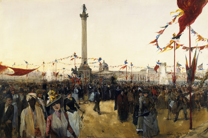Queen Victoria's Golden Jubilee: 1887