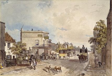 Hornsey Road: 1842