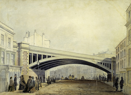 Railway Bridge over Westminster Road: 19th century