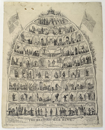 The British Beehive: 19th century