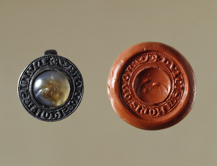 Circular seal matrix: 13th century