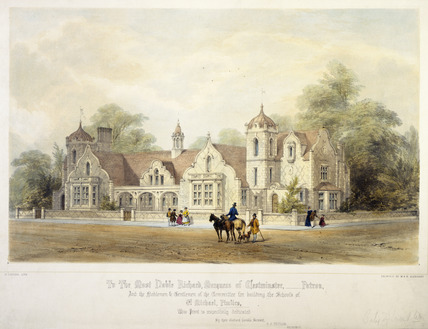 School of St. Michael, Pimlico: 19th century