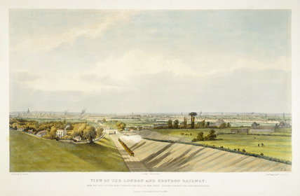 View of the London & Croydon Railway, 1838