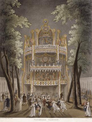 Vauxhall Garden: 1809