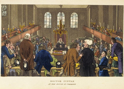 Doctor Syntax at the House of Commons: 19th century