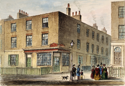 The Corner House in Camden Street: 1842