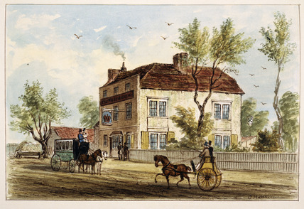 The Crown Inn, Upper Holloway: 1842