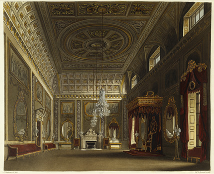 The Saloon, Buckingham House: 1819
