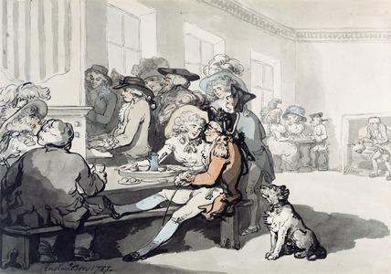 Taking Tea at the White Conduit House: 1787