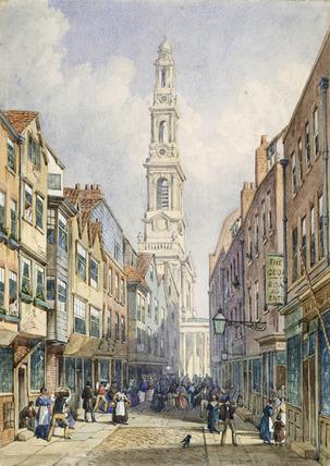 Old Drury Court: 1856