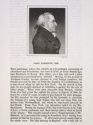 John Harriott, Esq.: 19th century