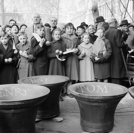Church bell naming ceremony: 1957
