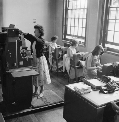 Municipal Borough of Hendon council offices: 1958