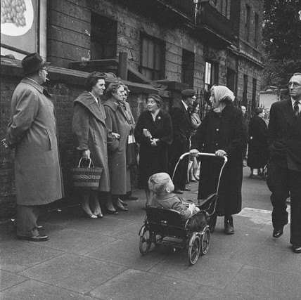 Kennistoun House rent protest, Kentish Town: 1960
