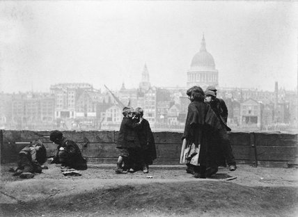 St Paul's from Bankside: 1893