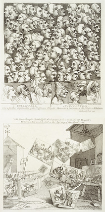Characters and Caricaturas: Subsciption ticket for Marriage a la Mode: 18th century