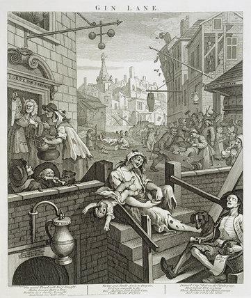 Gin Lane: 1751