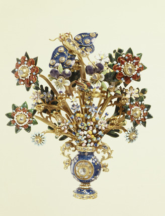 Aigrette or breast ornament: 18th century