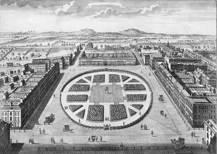Grosvenor Square: 18th century