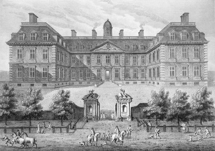 Clarendon House, called also Albemarle House: 1814