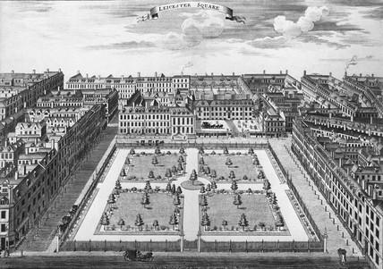 Leicester Square: 18th century