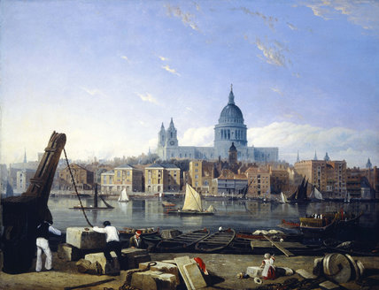 The City from Bankside: 19th century