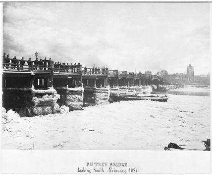Putney Bridge: 1881