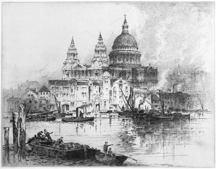 St. Paul's Cathedral: 1900