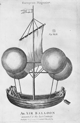 An air balloon invented in the last century: 1789