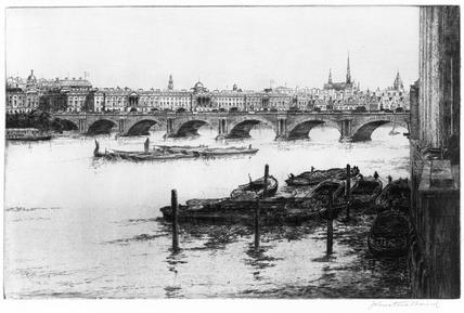 Waterloo Bridge: 20th century