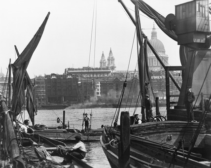 Greenmoor Wharf, Bankside: 20th century