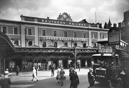 London Bridge Station: 20th century