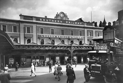 London Bridge Station: 20th century