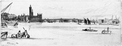 Old Westminster Bridge: 1859