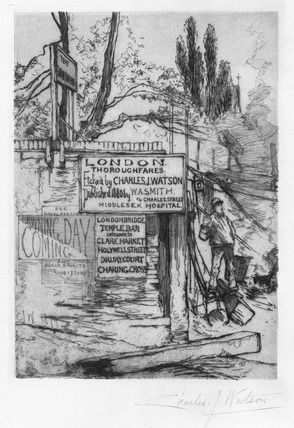 The Swan Tavern: 1880
