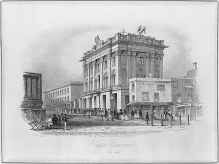Eagle Tavern, City Road: 1841