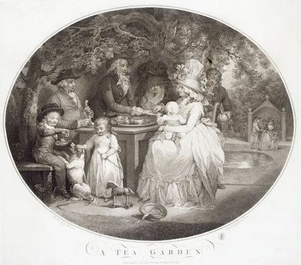 A Tea Garden: 1790