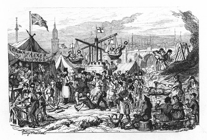 February - Frost Fair: 1838
